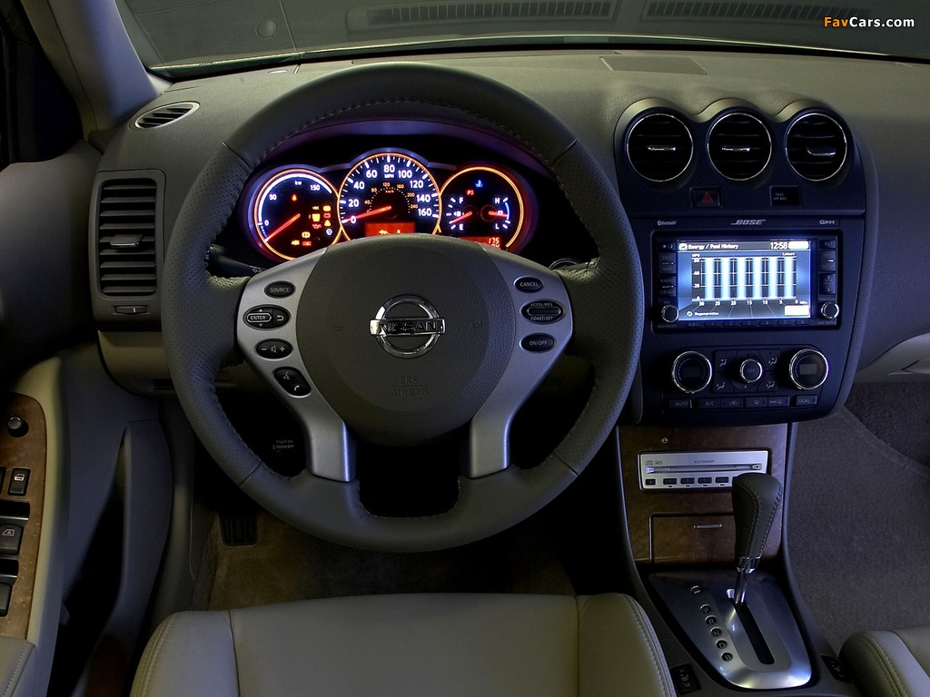 Pictures of Nissan Altima Hybrid (L32) 2007–09 (1024 x 768)