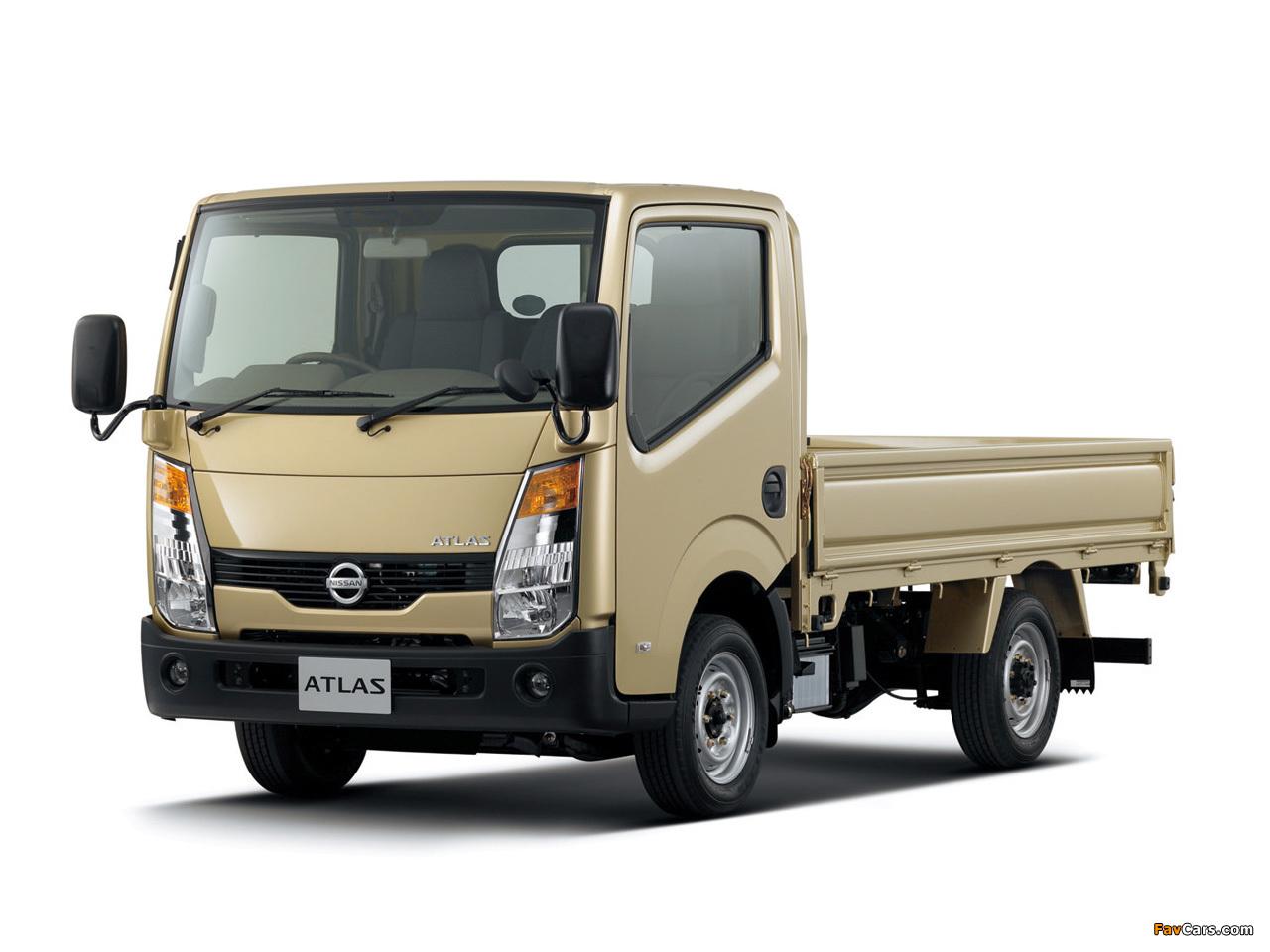 Nissan Atlas (F24) 2007 images (1280 x 960)
