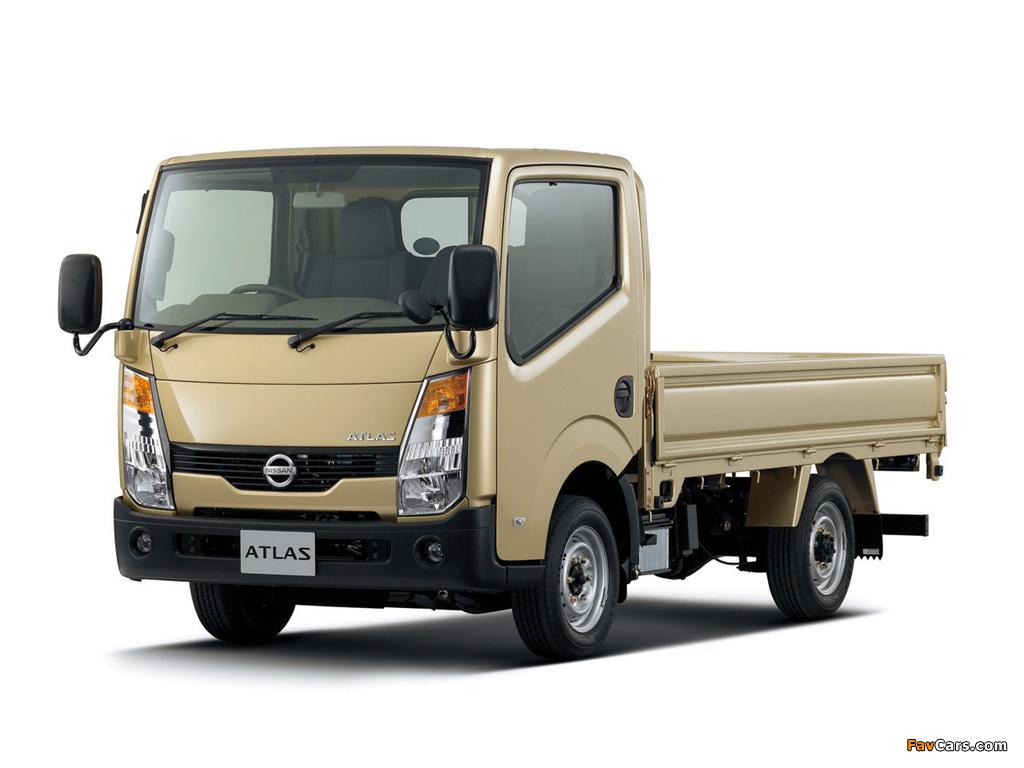 Nissan Atlas (F24) 2007 images (1024 x 768)