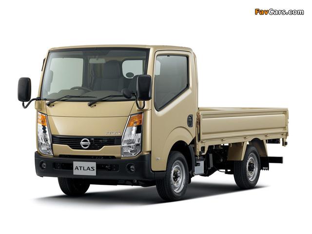 Nissan Atlas (F24) 2007 images (640 x 480)