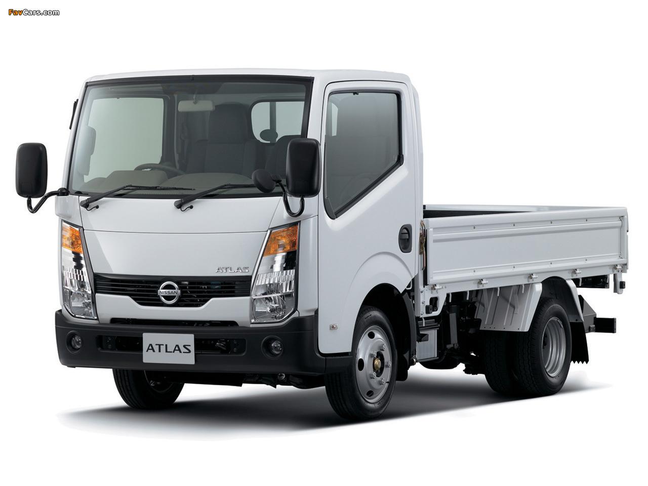 Nissan Atlas (F24) 2007 photos (1280 x 960)