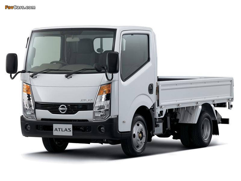 Nissan Atlas (F24) 2007 photos (800 x 600)