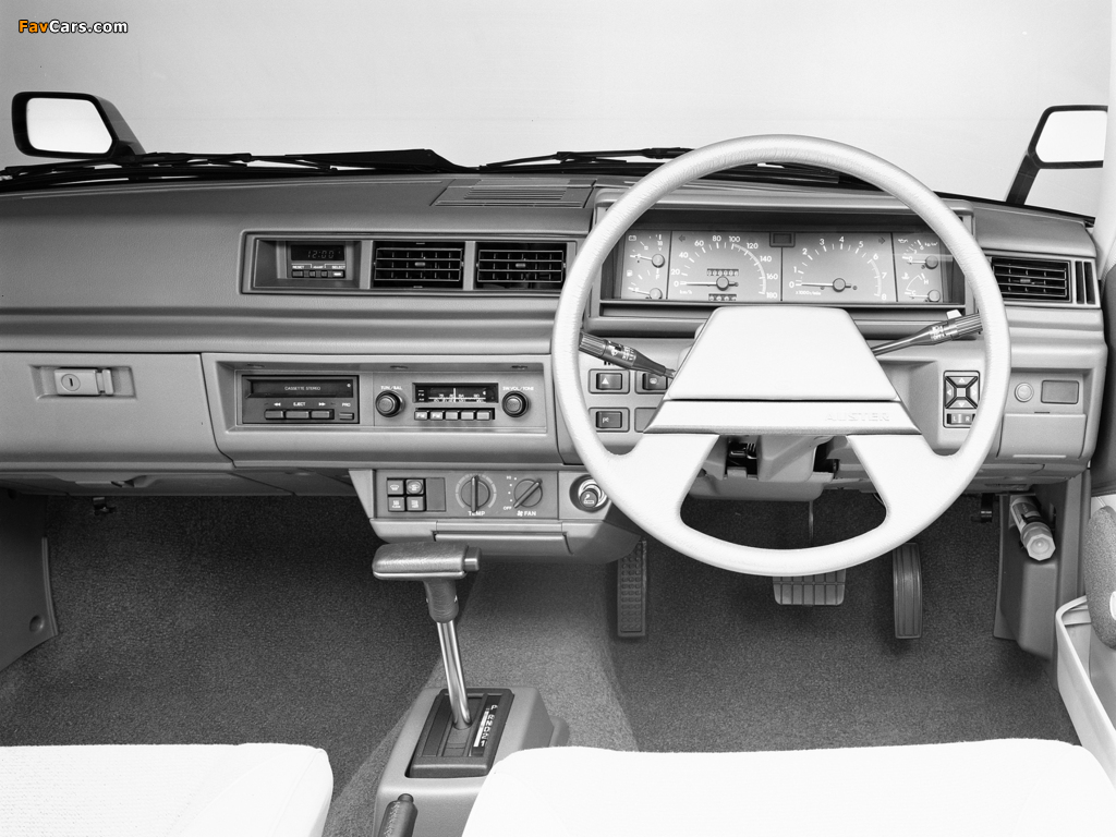 Images of Nissan Auster JX Sedan (T11) 1981–83 (1024 x 768)