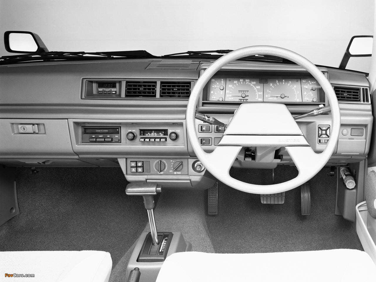Images of Nissan Auster JX Sedan (T11) 1981–83 (1280 x 960)