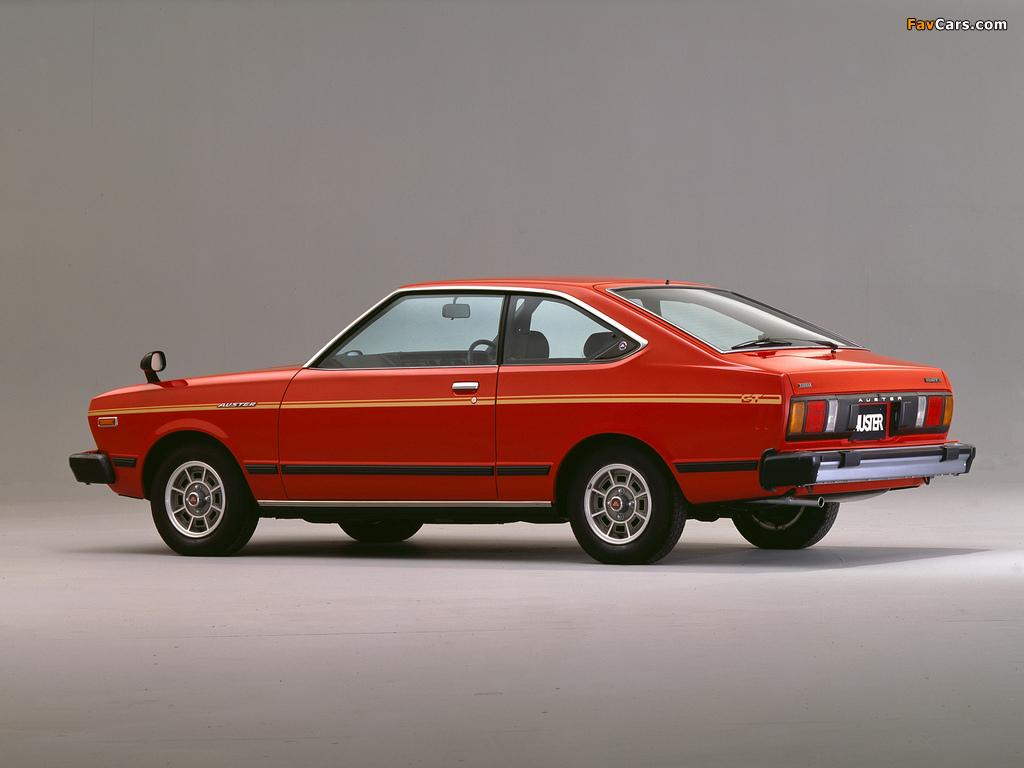 Nissan Auster GT Coupe (A10) 1979–81 photos (1024 x 768)