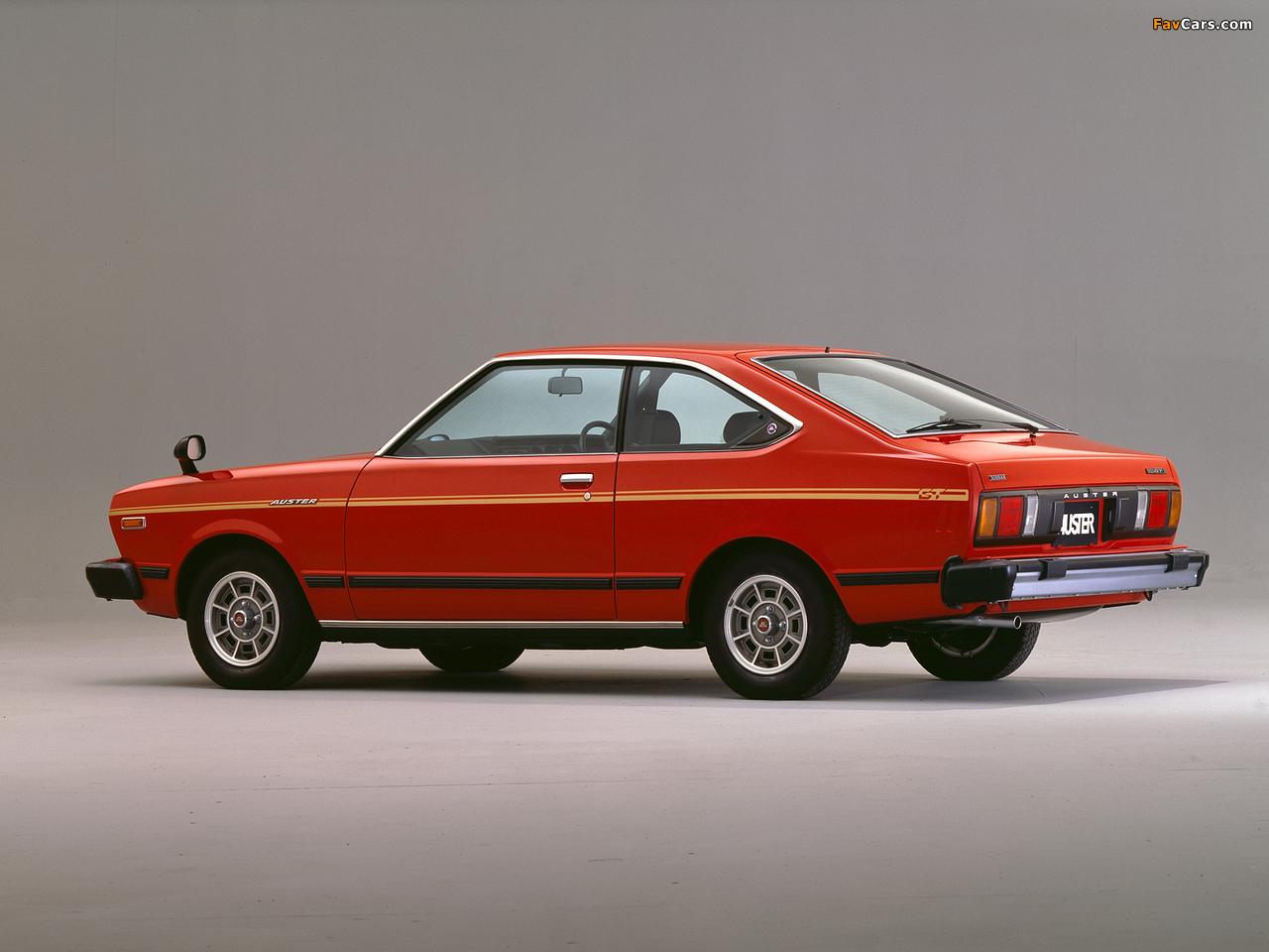 Nissan Auster GT Coupe (A10) 1979–81 photos (1280 x 960)
