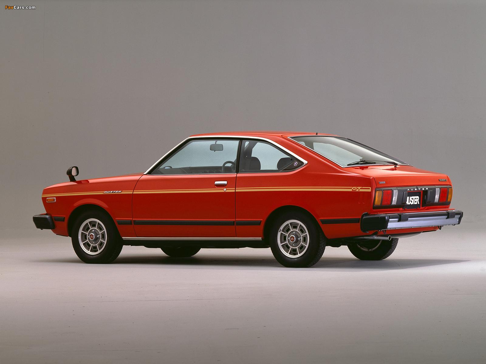 Nissan Auster GT Coupe (A10) 1979–81 photos (1600 x 1200)
