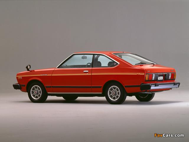 Nissan Auster GT Coupe (A10) 1979–81 photos (640 x 480)