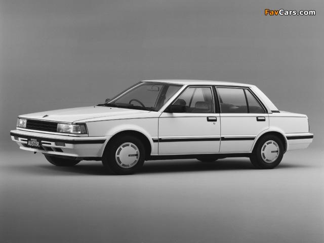 Photos of Nissan Auster JX 1800 GT-EX (T11) 1983–85 (640 x 480)