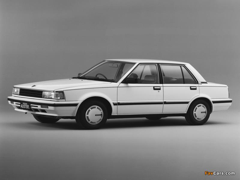 Photos of Nissan Auster JX 1800 GT-EX (T11) 1983–85 (800 x 600)