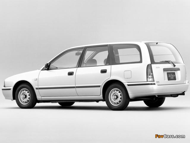 Nissan Avenir Cargo (W10) 1990–98 photos (640 x 480)