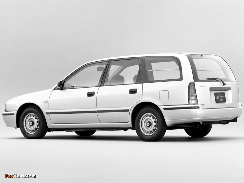 Nissan Avenir Cargo (W10) 1990–98 photos (800 x 600)