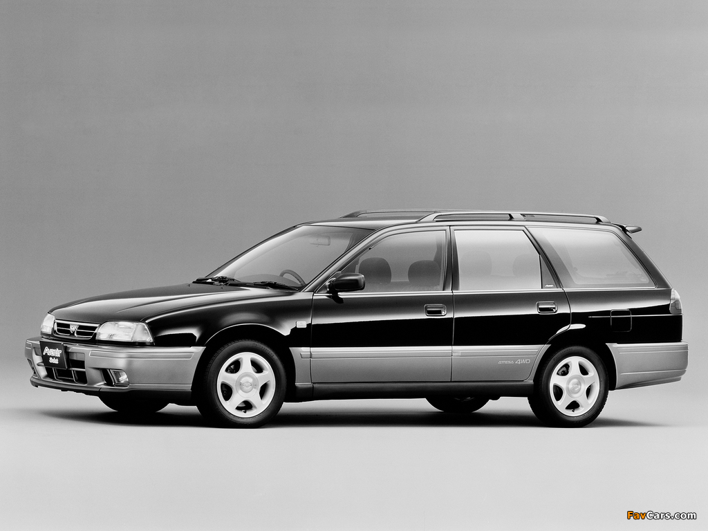 Nissan Avenir Salut 2.0 X GT Turbo (E-PNW10) 1995–96 photos (1024 x 768)