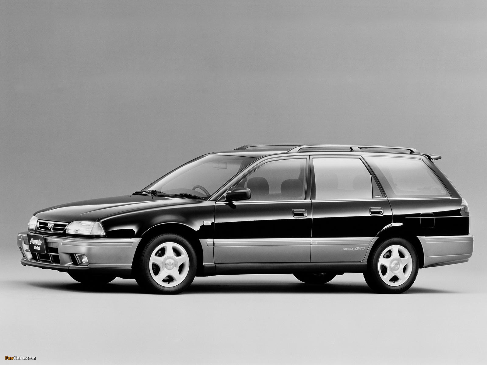 Nissan Avenir Salut 2.0 X GT Turbo (E-PNW10) 1995–96 photos (1600 x 1200)