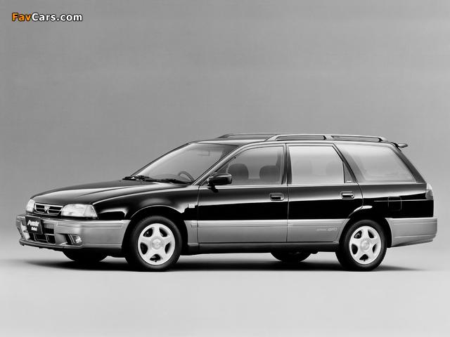 Nissan Avenir Salut 2.0 X GT Turbo (E-PNW10) 1995–96 photos (640 x 480)