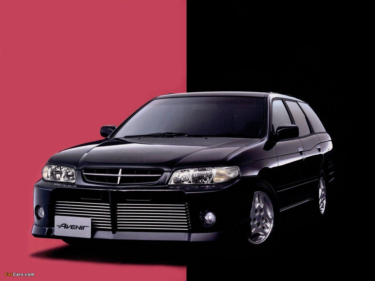Autech Nissan Avenir Rider (W11) 1998–2005 photos (1280 x 960)