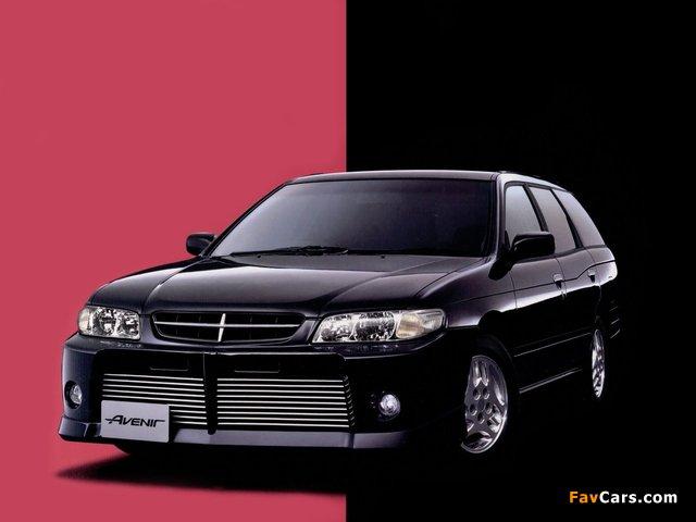 Autech Nissan Avenir Rider (W11) 1998–2005 photos (640 x 480)