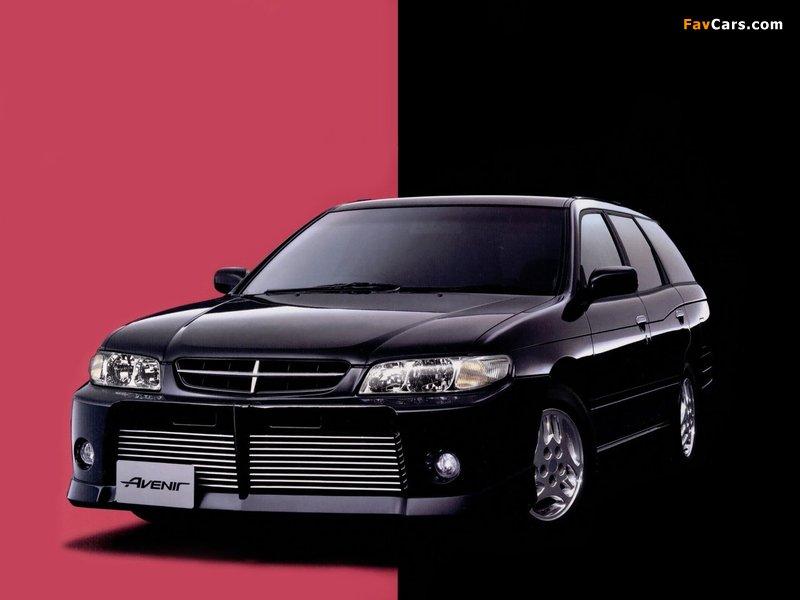Autech Nissan Avenir Rider (W11) 1998–2005 photos (800 x 600)