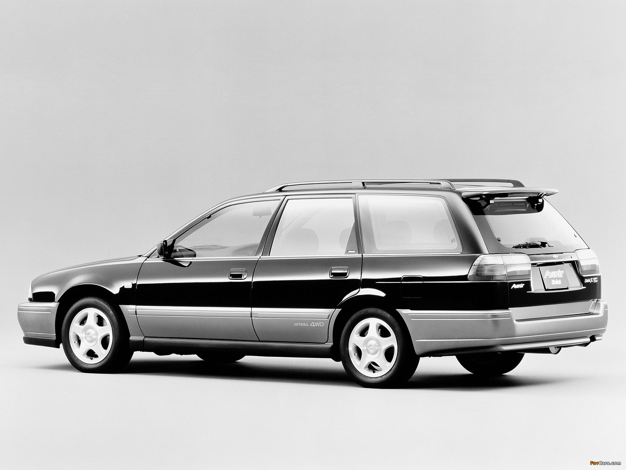 Pictures of Nissan Avenir Salut 2.0 X GT Turbo (E-PNW10) 1995–96 (2048 x 1536)