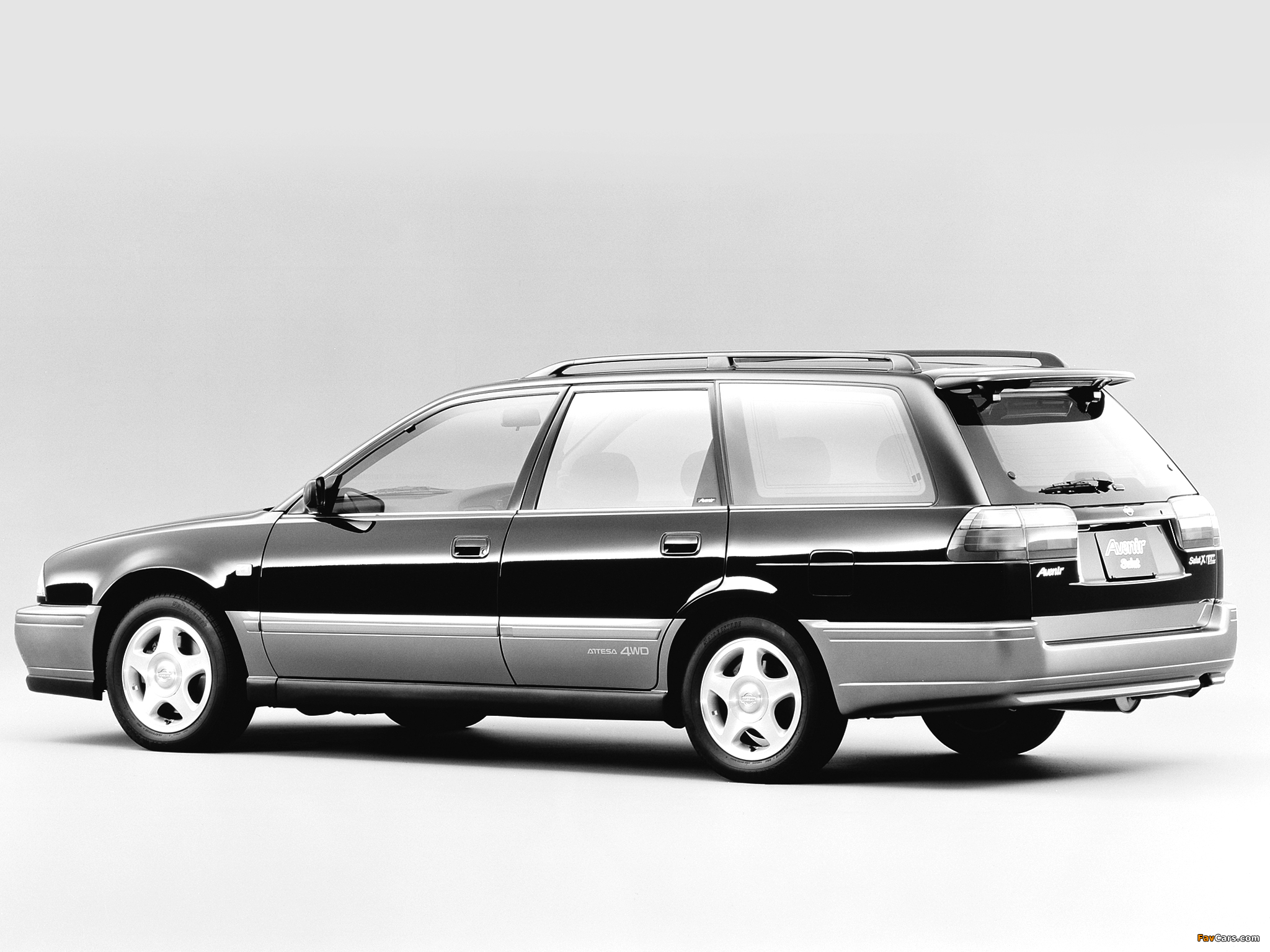 Autech Nissan Avenir Salut (W10) 1995–98 wallpapers (2048 x 1536)