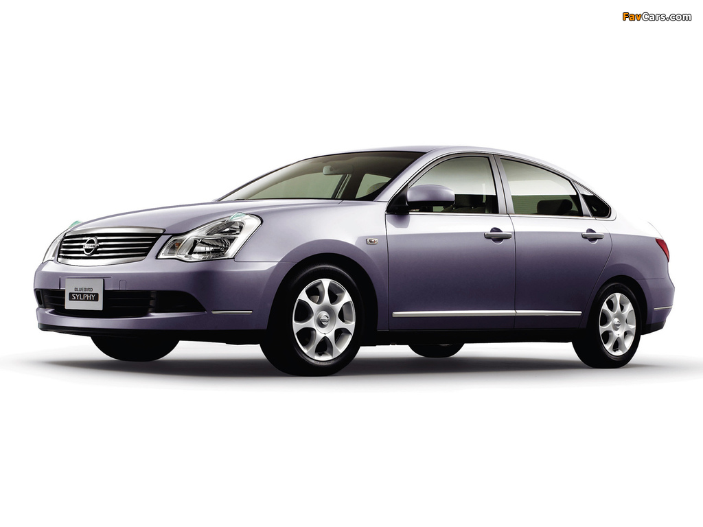 Images of Nissan Bluebird Sylphy (G11) 2005 (1024 x 768)