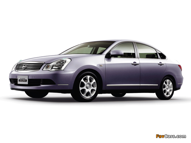 Images of Nissan Bluebird Sylphy (G11) 2005 (640 x 480)