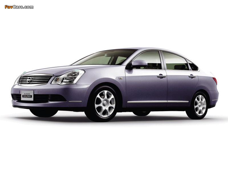 Images of Nissan Bluebird Sylphy (G11) 2005 (800 x 600)