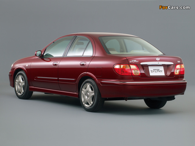 Images of Nissan Bluebird Sylphy (G10) 2000–03 (640 x 480)