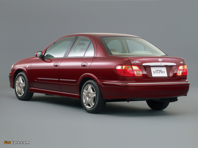 Images of Nissan Bluebird Sylphy (G10) 2000–03 (800 x 600)