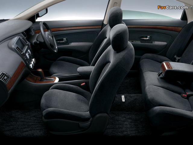 Nissan Bluebird Sylphy (G11) 2005 photos (640 x 480)