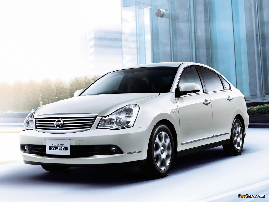 Nissan Bluebird Sylphy (G11) 2005 pictures (1024 x 768)