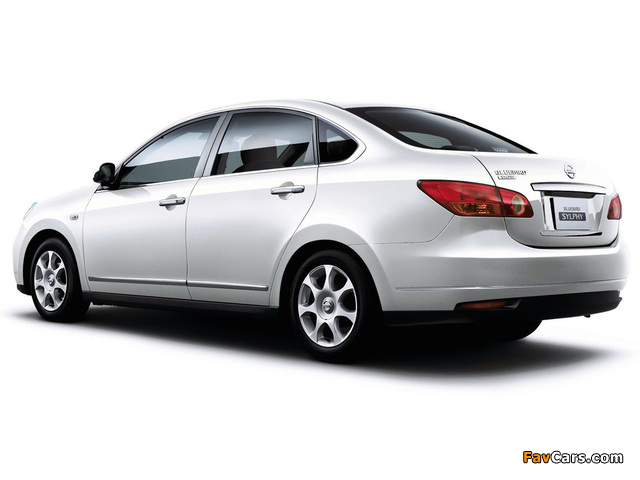 Nissan Bluebird Sylphy (G11) 2005 pictures (640 x 480)