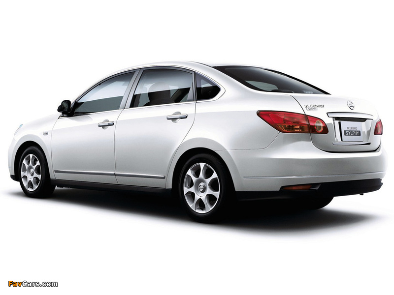 Nissan Bluebird Sylphy (G11) 2005 pictures (800 x 600)