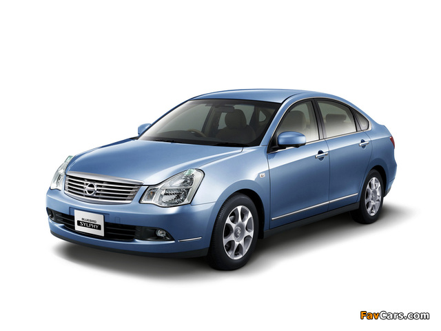 Pictures of Nissan Bluebird Sylphy (G11) 2005 (640 x 480)