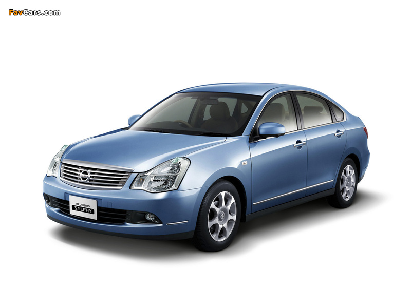 Pictures of Nissan Bluebird Sylphy (G11) 2005 (800 x 600)