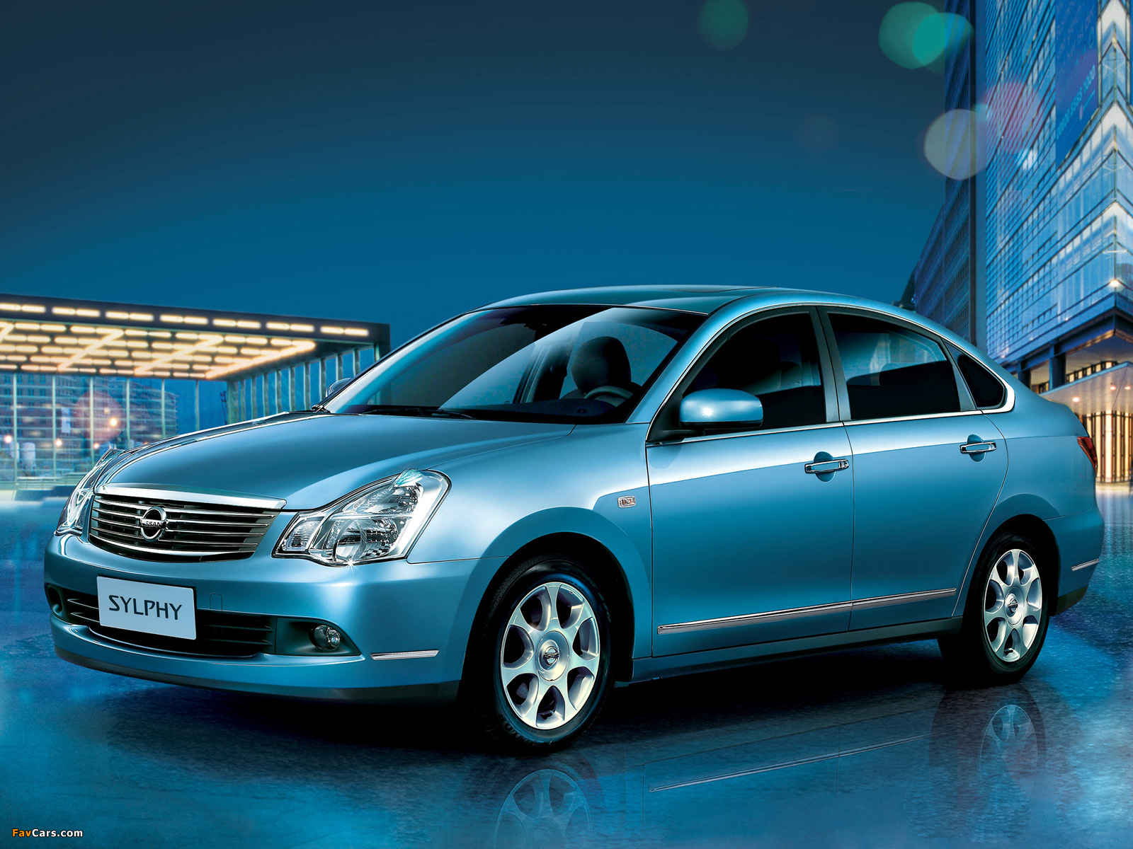 Pictures of Nissan Sylphy (G11) 2008 (1600 x 1200)
