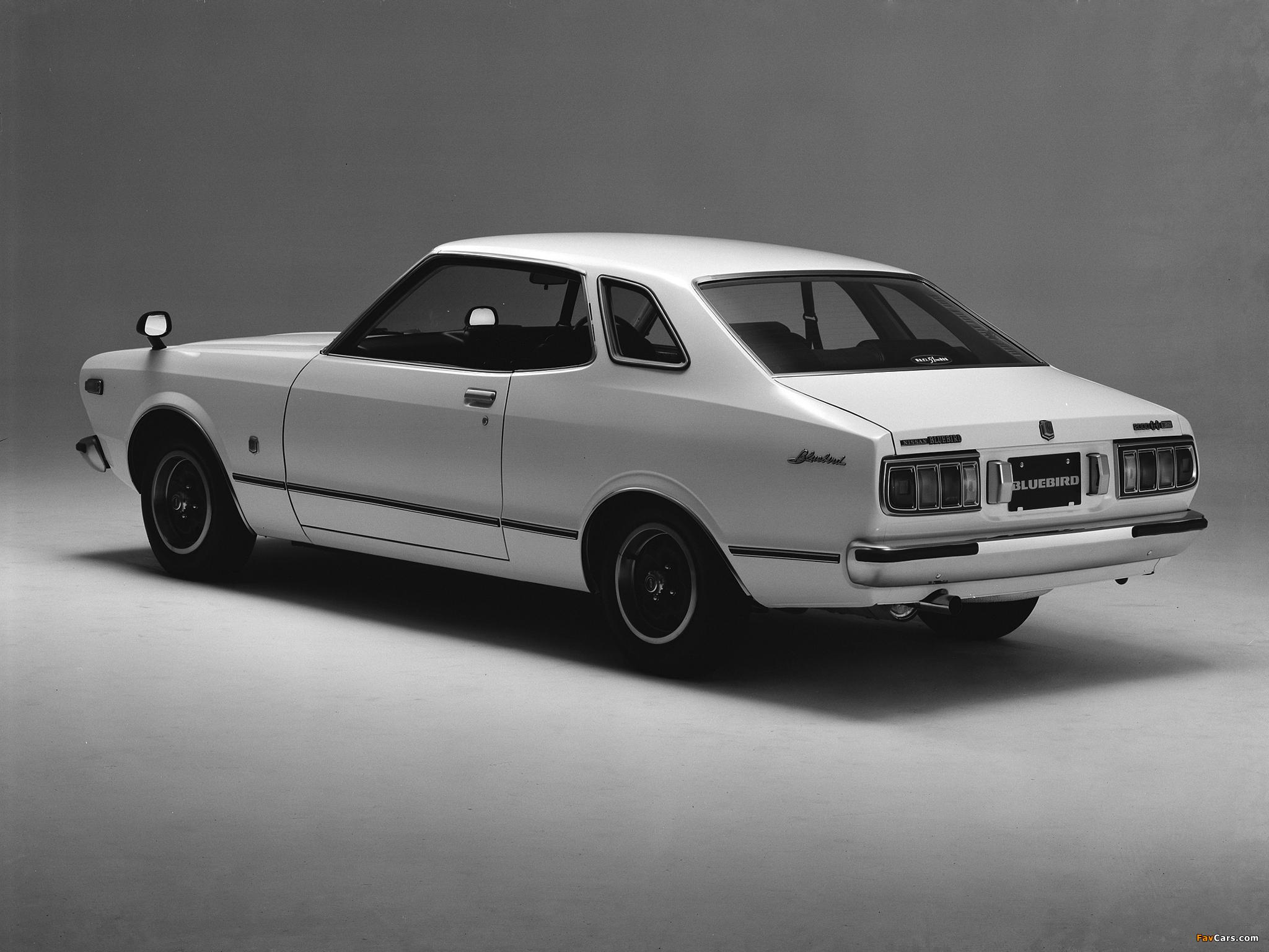 Photos of Datsun Bluebird Coupe (810) 1976–78 (2048x1536)