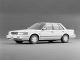 Photos of Nissan Bluebird Maxima Sedan (U11) 1986–88