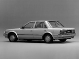 Pictures of Nissan Bluebird Sedan (U11) 1983–85