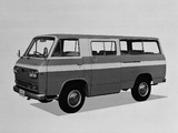 Nissan Caball Microbus (KC142) 1966–76 photos
