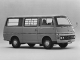 Nissan Caravan Van (E20) 1973–80 images