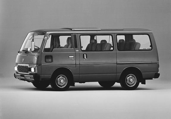 nissan caravan coach (e23)