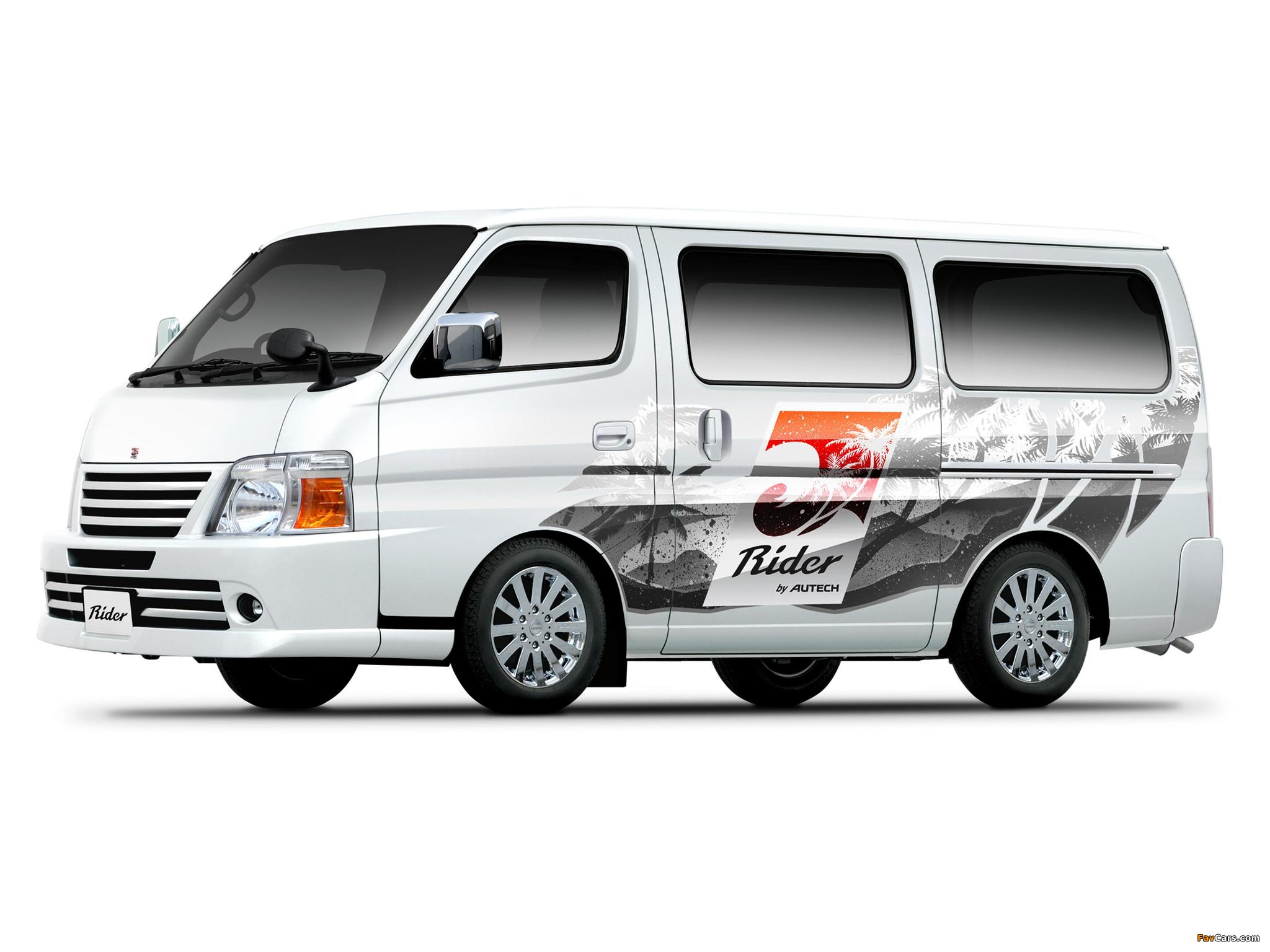 Autech Nissan Caravan Rider (E25) 2005 images (2048 x 1536)