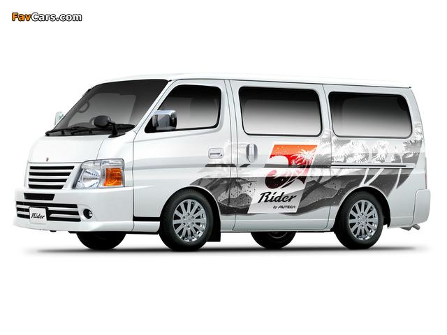 Autech Nissan Caravan Rider (E25) 2005 images (640 x 480)