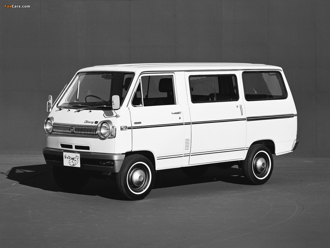 Images of Nissan Cherry Cab Coach (C20) 1970–78 (1280 x 960)