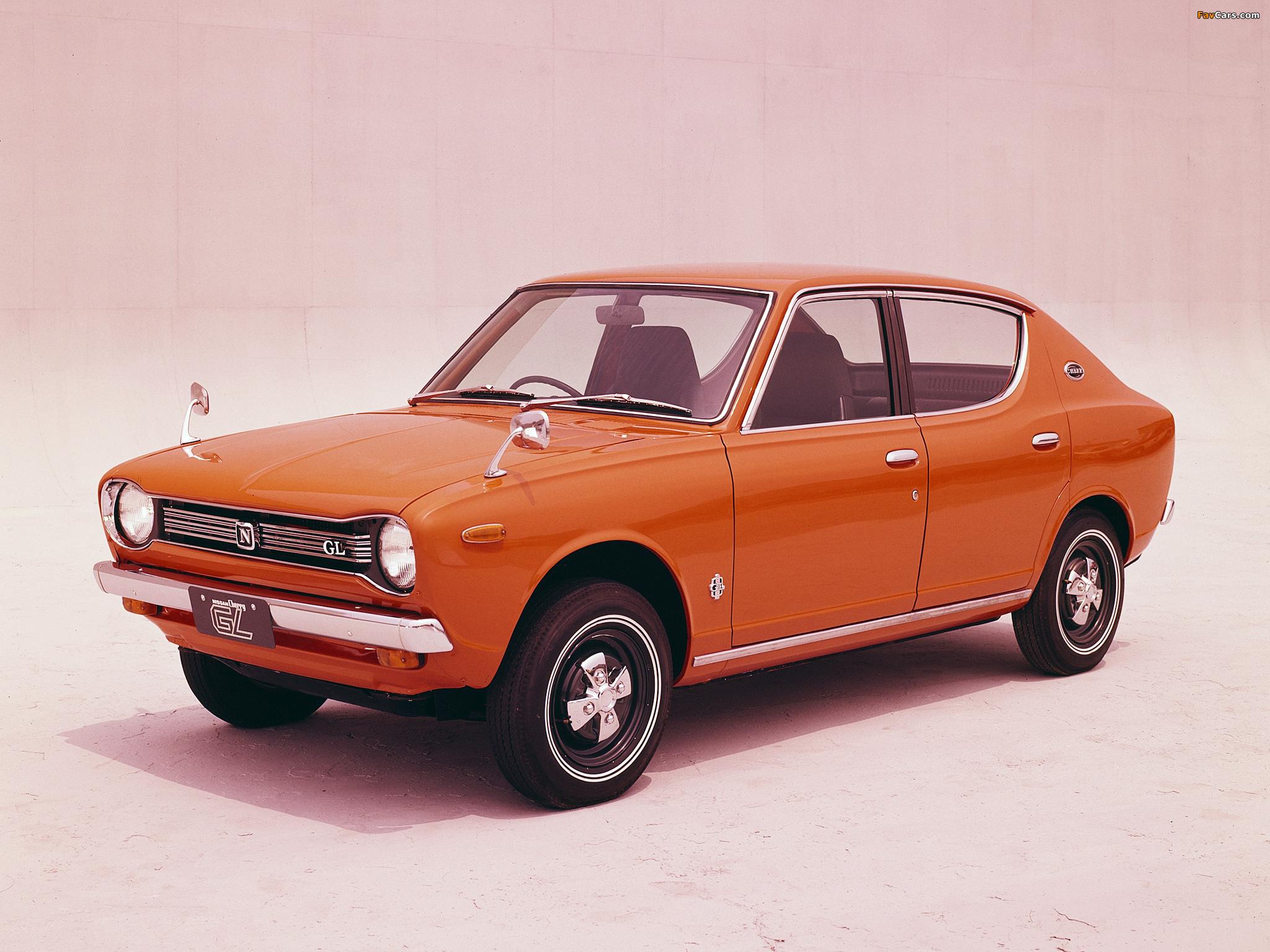 Images of Datsun Cherry 4-door Sedan (E10) 1970–74 (2048 x 1536)