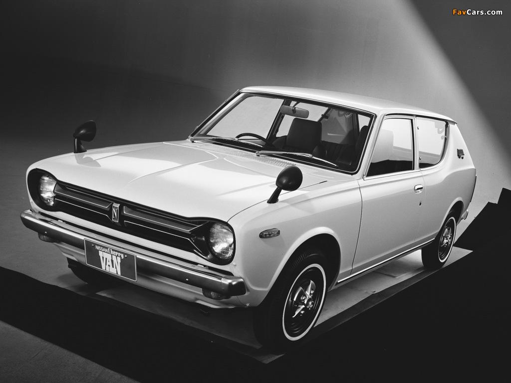 Images of Datsun Cherry Van (E10) 1972–74 (1024 x 768)