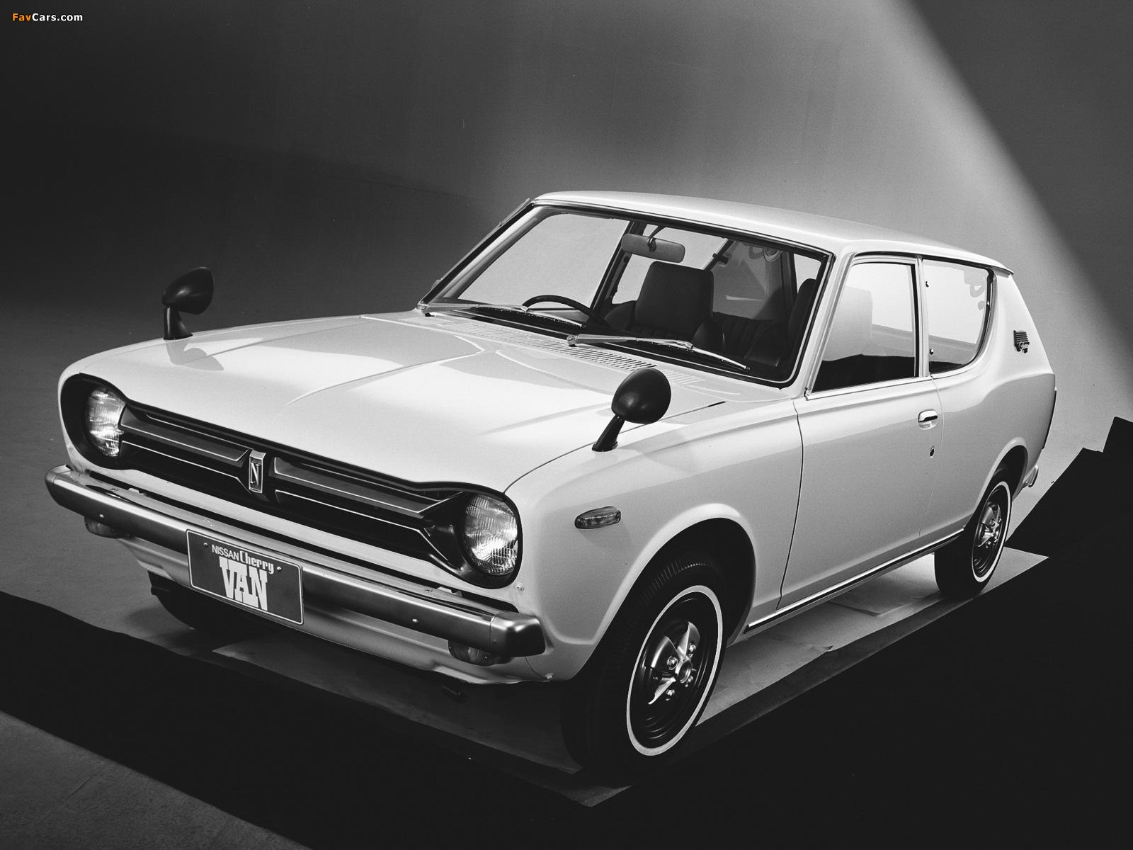 Images of Datsun Cherry Van (E10) 1972–74 (1600 x 1200)