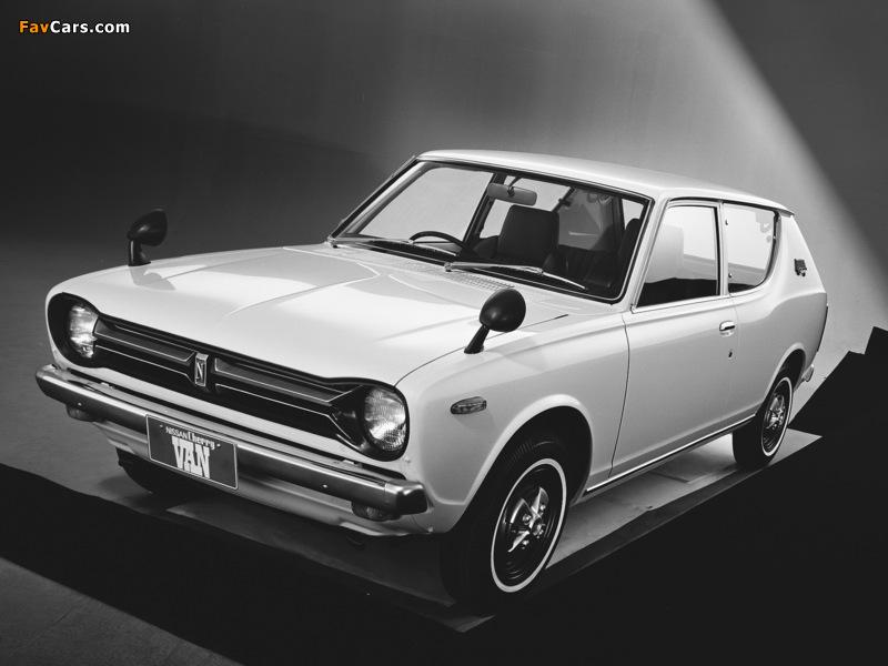 Images of Datsun Cherry Van (E10) 1972–74 (800 x 600)