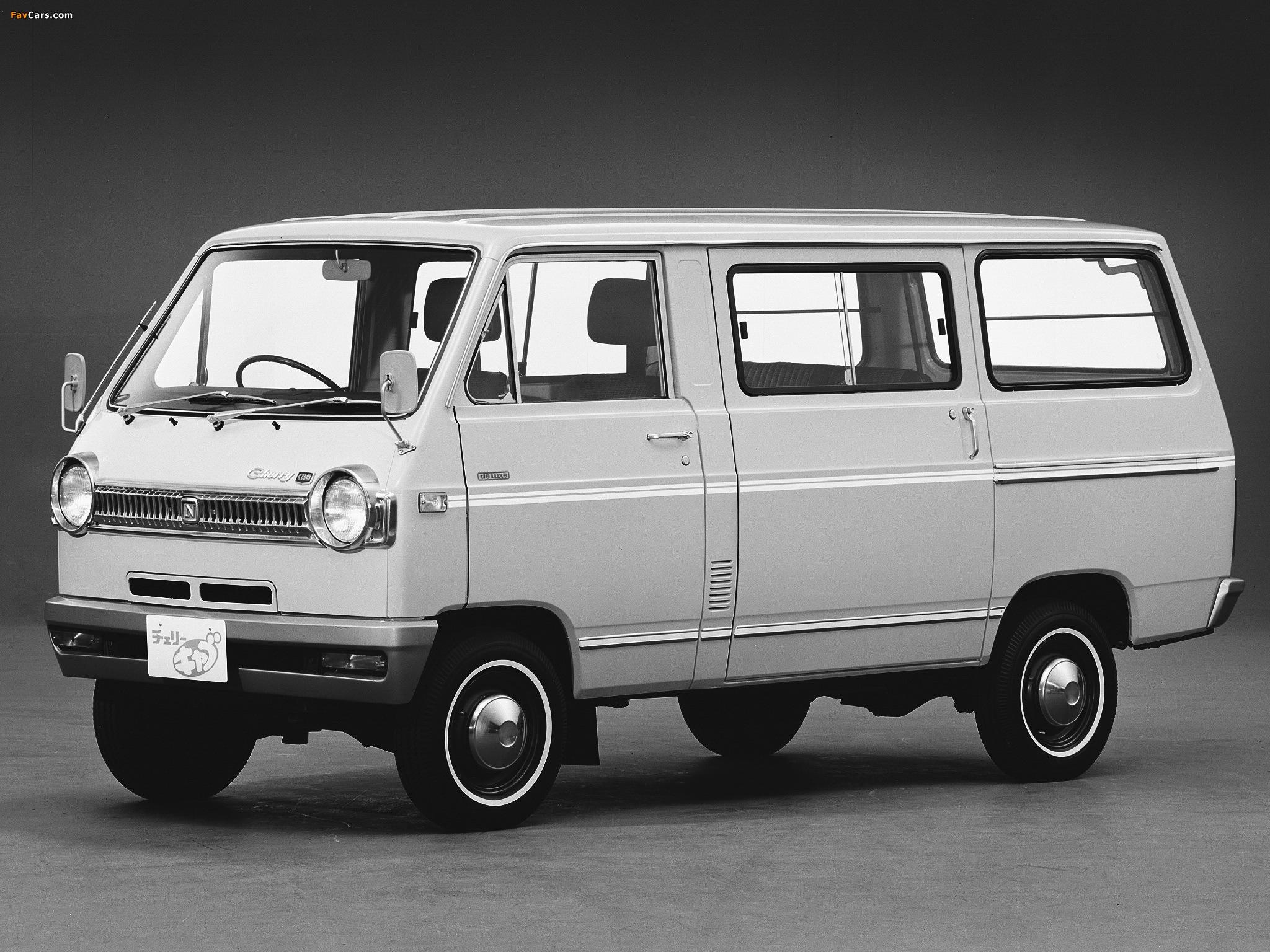 Nissan Cherry Cab Van (C20) 1970–78 pictures (2048 x 1536)